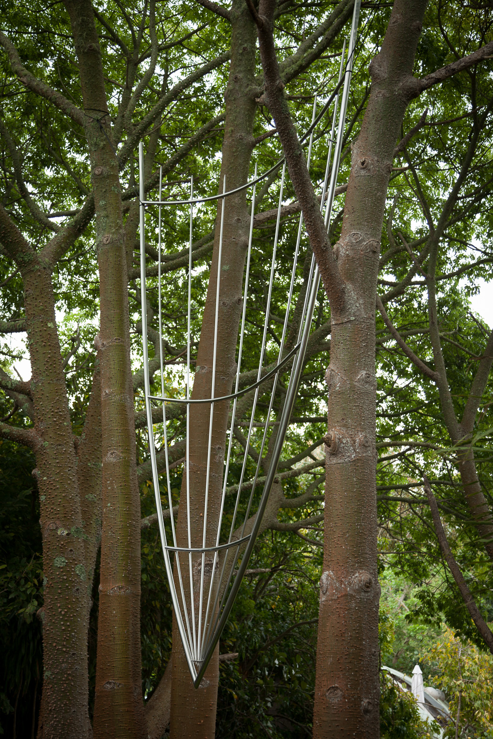 Christopher Hinde- Claw Sail .sculpture park